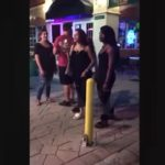 SMH: Cash Me Ousside Girl Got In Another fight Outside A Bar (Video).