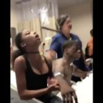 Man Gets Visited By His Side Chick While In The Hospital With His Girlfriend