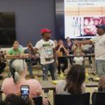 DNA & K Shine NBA Finals Rap Battle At ESPN Studios