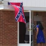 Detroit Man Flying Confederate Flag Says 'Black People' Aren't Welcome.