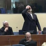 A Convicted War Criminal Dies After Drinking Poison During Trial..