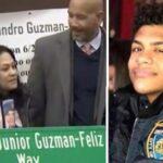 Junior Guzman-Feliz gets street named after him.