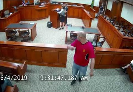 Man Being Sentenced to 90 Days In Jail Flees Courthouse.