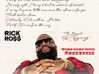 """New Music: Rick Ross """"Numb Numb Juice"""" Freestyle."""