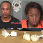 Two Arrested after kindergartner brought bags of cocaine to school.