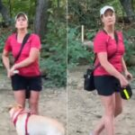 Woman Threatens To Pepper Spray Man Over Unleased Dog.