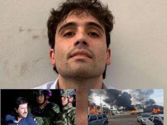 El Chapo's son arrested
