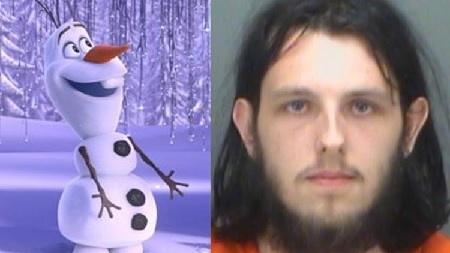 Man arrested for having sex with stuffed 'Olaf' at Target.