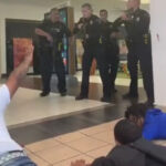 Cops Pulls Their Guns Out On The Wrong People At A Mall!