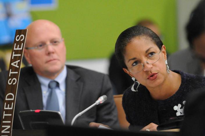 US Permanent Representative Ambassador Susan Rice