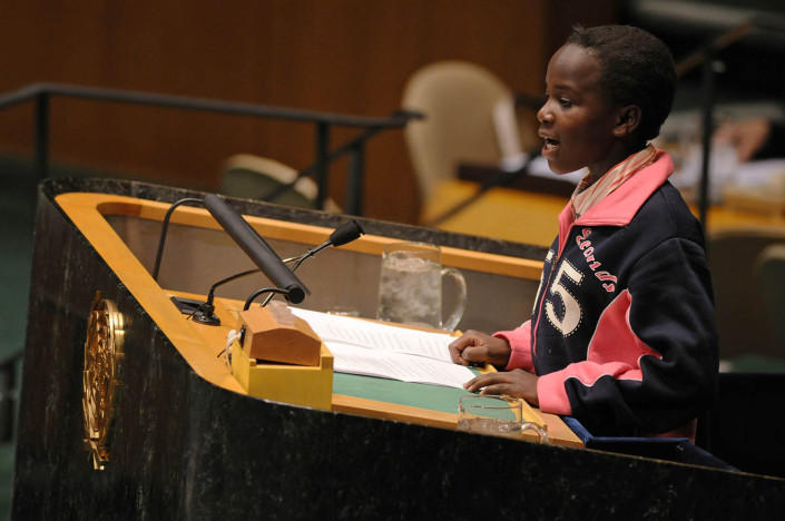 Millicent Otieno Orondo, Kenyan Child Delegate