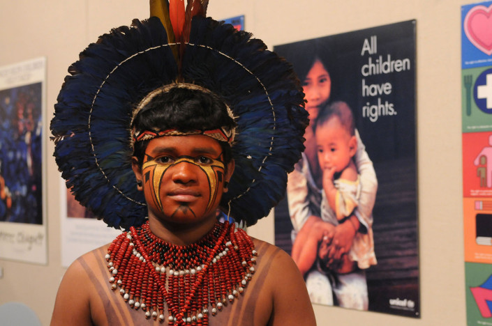Brazil Indigenous Advocate Urapinã Pataxó