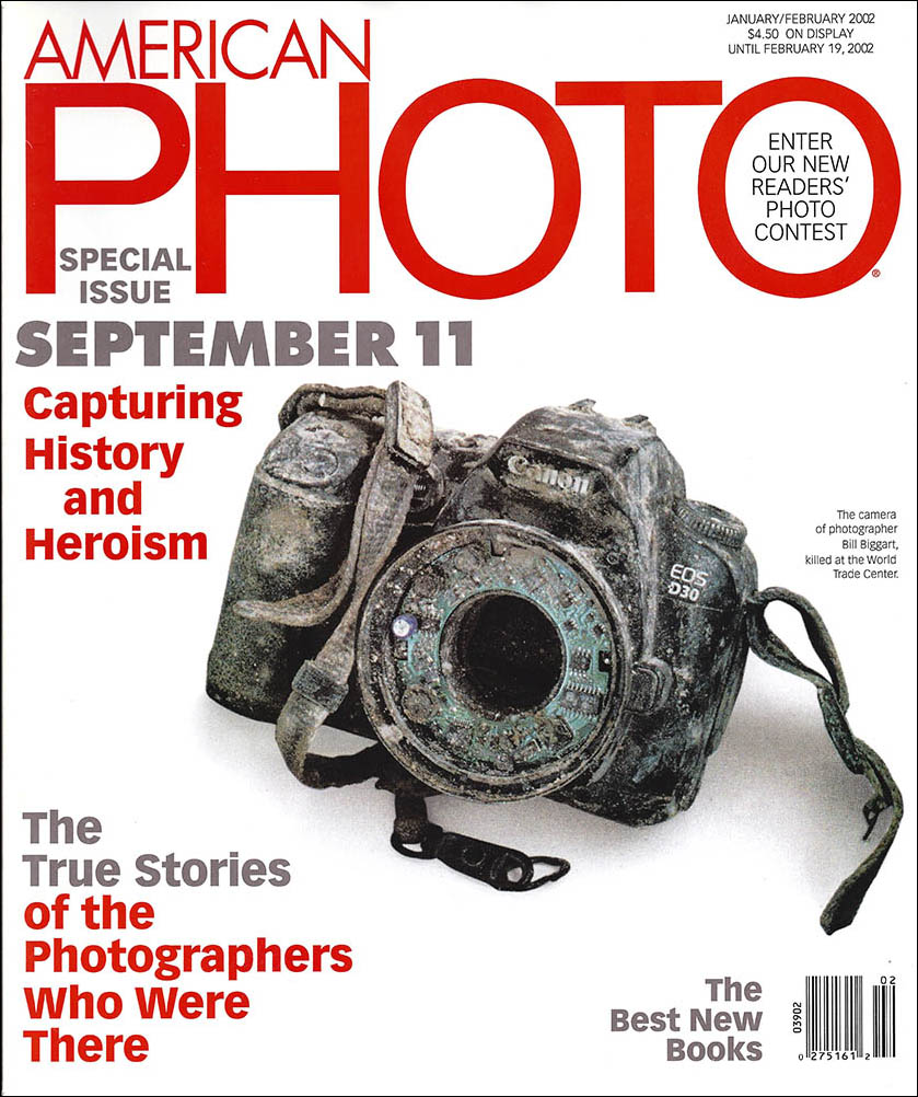 Screen capture of AmericanPHOTO Special Report cover.