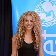 Shakira at UN Headquarters