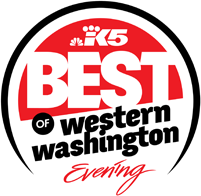 button link to King5 BEST of Western Washington award