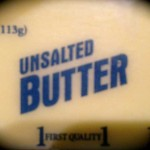 chilled unsalted butter