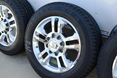 Chevy HD High Country Wheels Chevrolet 2500 Chrome High Country 8 Lug