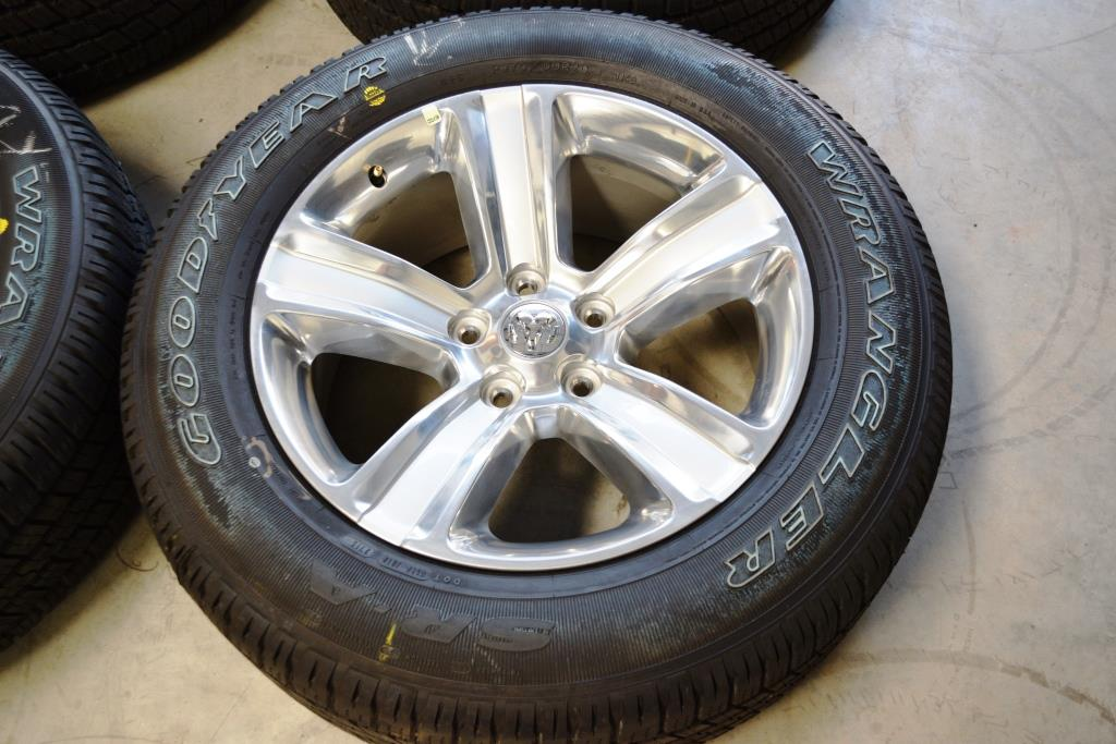 2015 dodge ram 1500 six lug 20 inch polish oem factory wheels