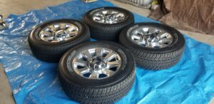 Ford F250 OEM Factory wheels and tire set package