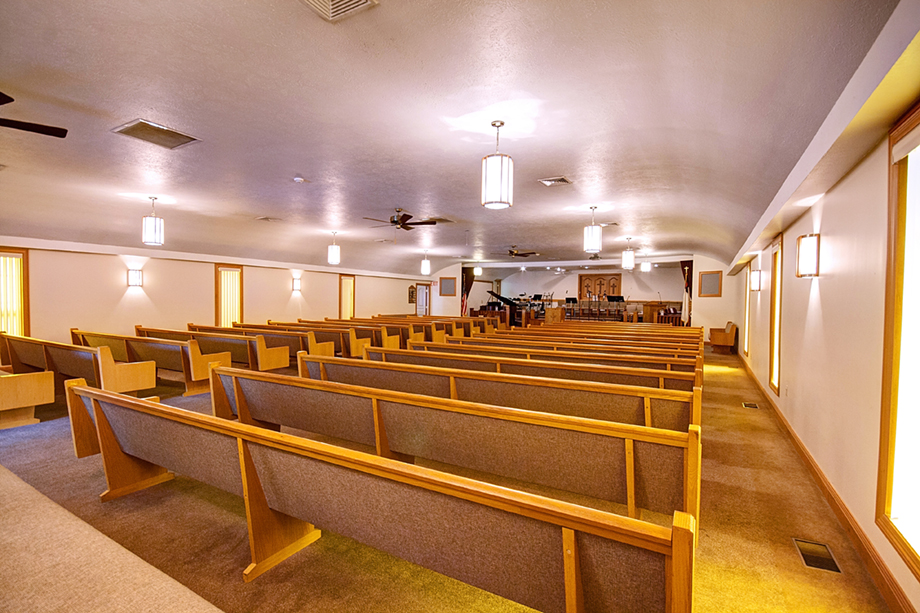 Sanctuary from Behind Pews