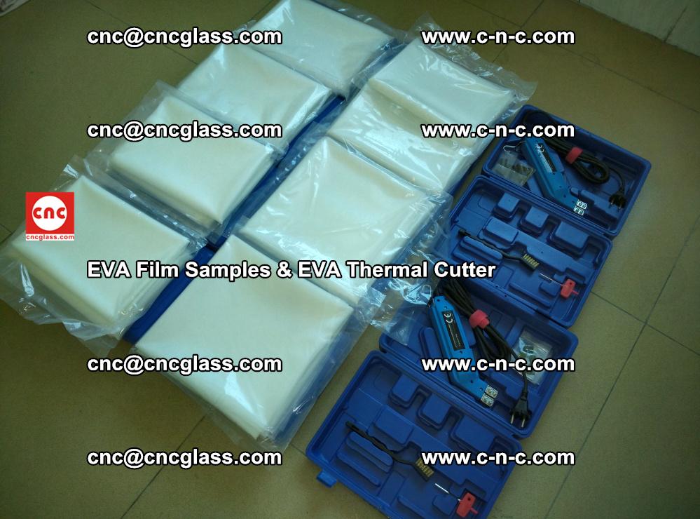 EVA Thermal Cutter and EVAFORCE SUPER PLUS EVA FILM samples (30)