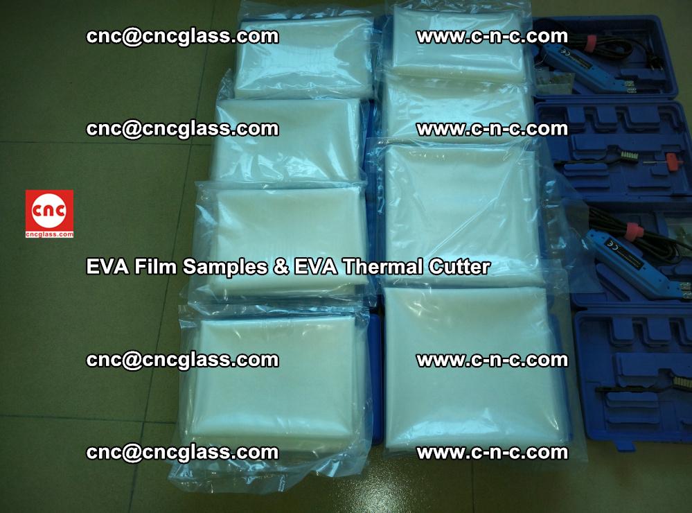 EVA Thermal Cutter and EVAFORCE SUPER PLUS EVA FILM samples (9)