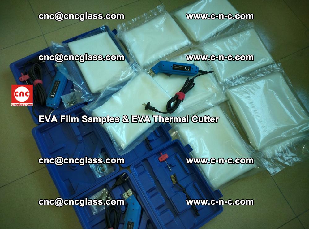 EVAFORCE SUPER CLEAR EVA Film Samples and EVA Thermal Cutter (10)