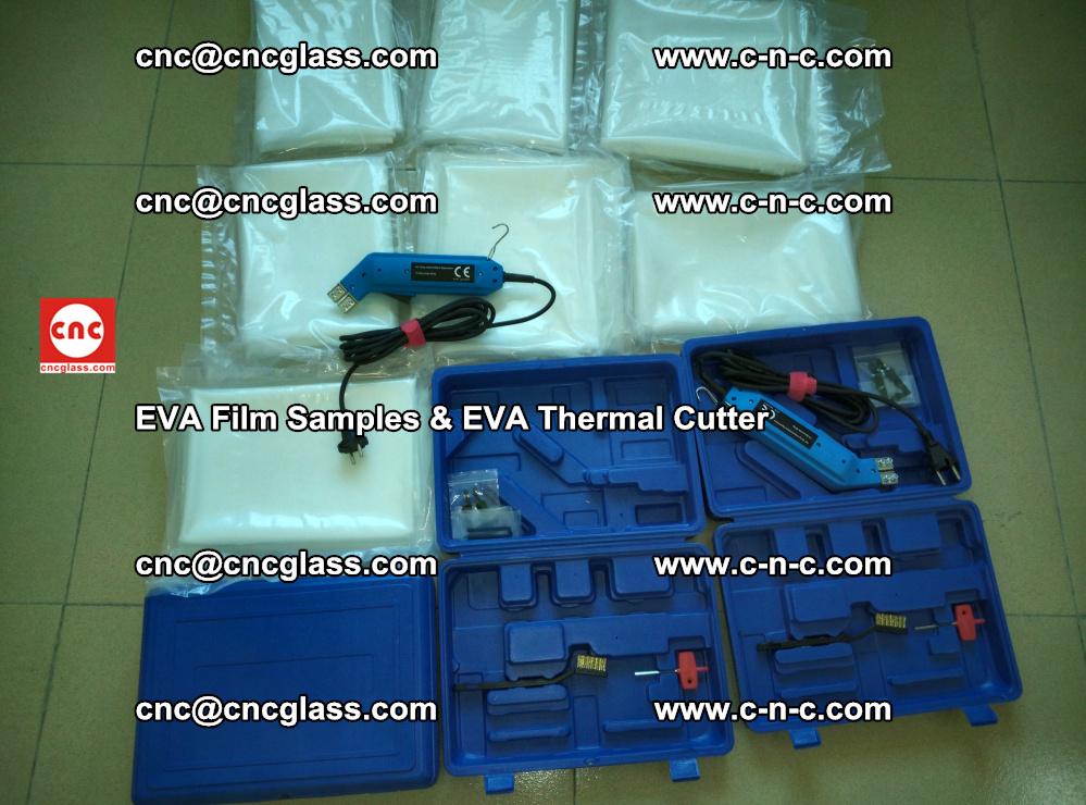 EVAFORCE SUPER CLEAR EVA Film Samples and EVA Thermal Cutter (19)