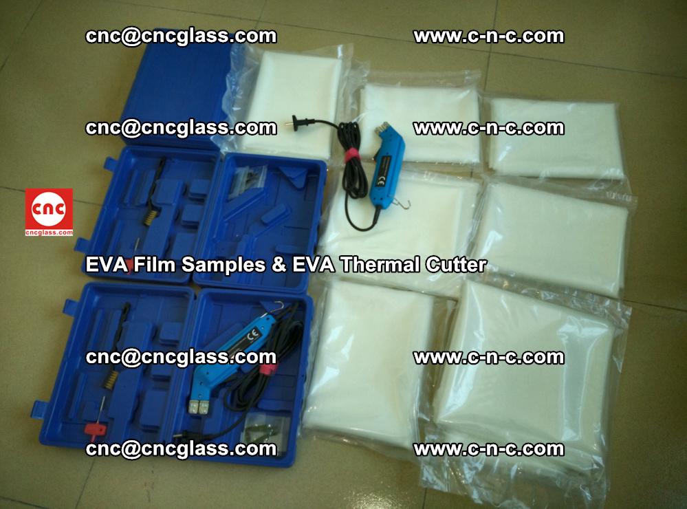 EVAFORCE SUPER CLEAR EVA Film Samples and EVA Thermal Cutter (30)