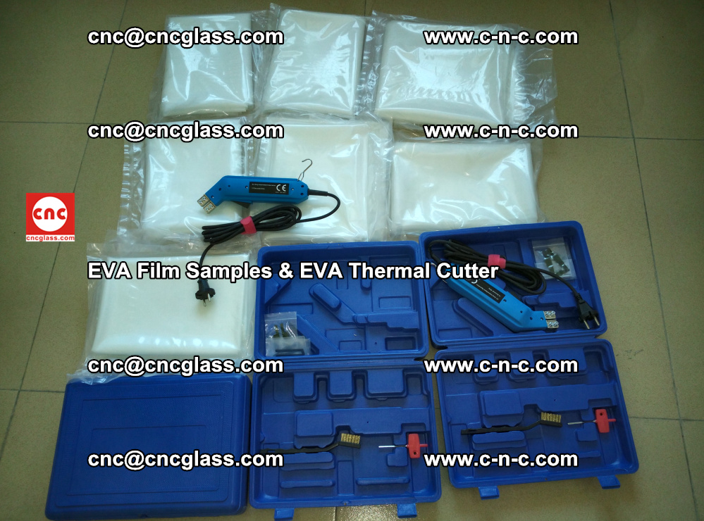 EVAFORCE SUPER CLEAR EVA Film Samples and EVA Thermal Cutter (32)
