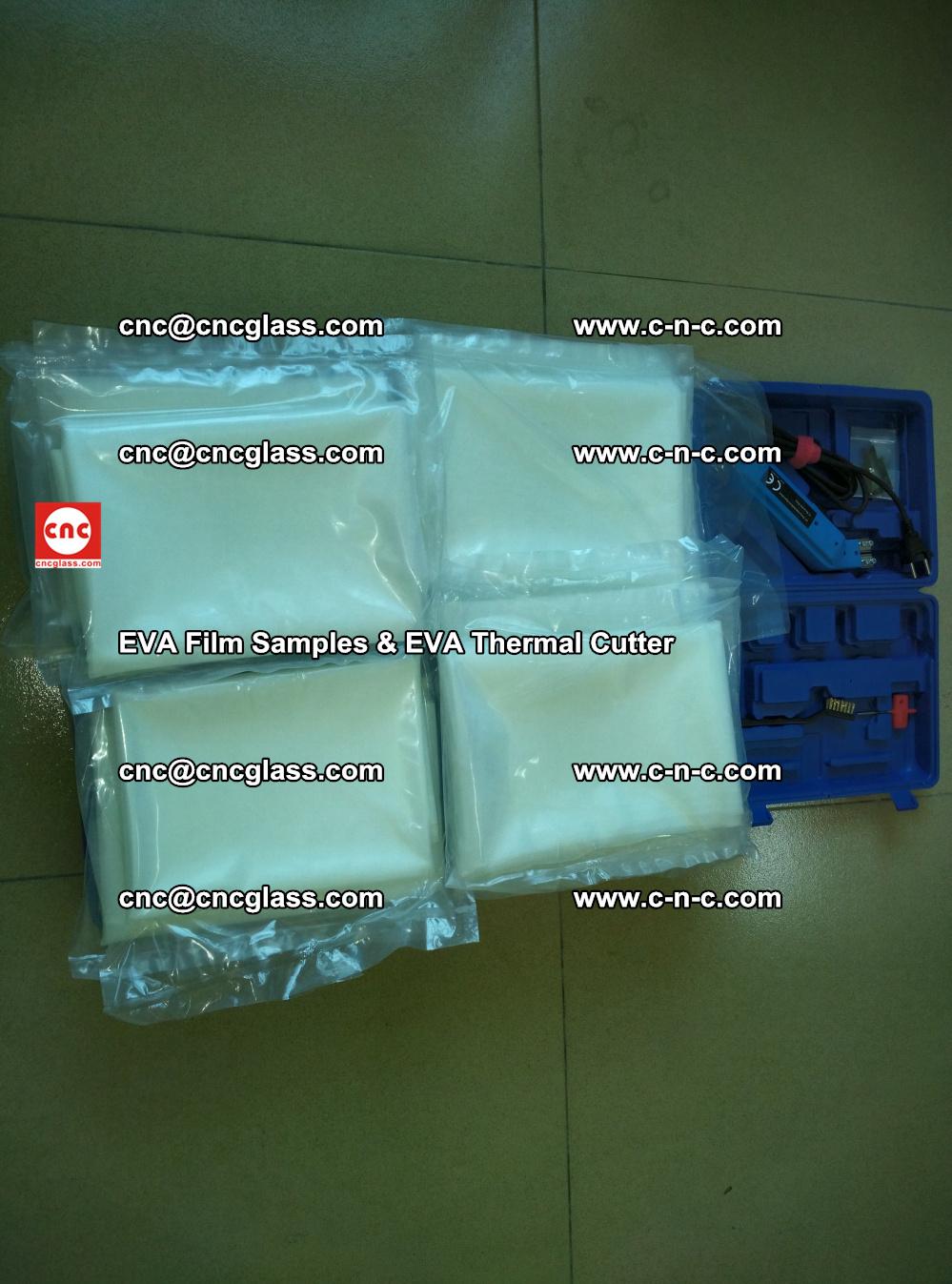 EVAFORCE SUPER CLEAR EVA Film Samples and EVA Thermal Cutter (41)