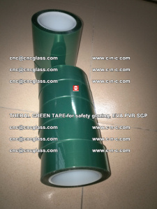 Thermal Green Tape, for safety glazing, EVA PVB SGP (10)