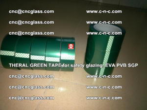 Thermal Green Tape, for safety glazing, EVA PVB SGP (2)