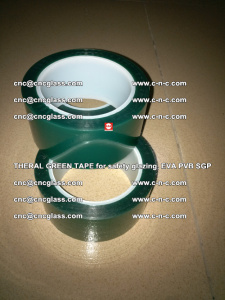 Thermal Green Tape, for safety glazing, EVA PVB SGP (24)