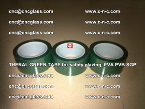 Thermal Green Tape, for safety glazing, EVA PVB SGP (27)