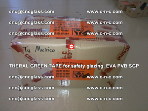 Thermal Green Tape, for safety glazing, EVA PVB SGP (34)