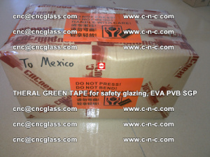 Thermal Green Tape, for safety glazing, EVA PVB SGP (35)