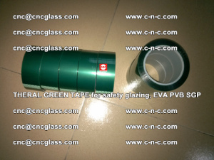 Thermal Green Tape, for safety glazing, EVA PVB SGP (4)
