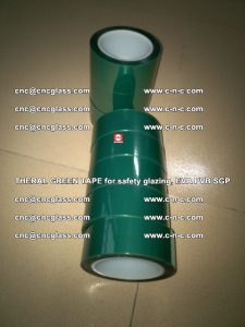 Thermal Green Tape, for safety glazing, EVA PVB SGP (8)