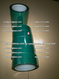 Thermal Green Tape, for safety glazing, EVA PVB SGP (9)