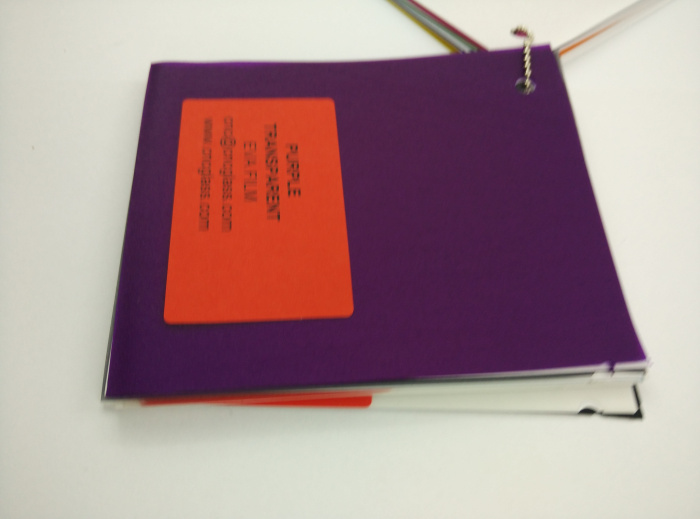 Purple Transparent Ethylene Vinyl Acetate Copolymer EVA interlayer film for laminated glass safety glazing (45)