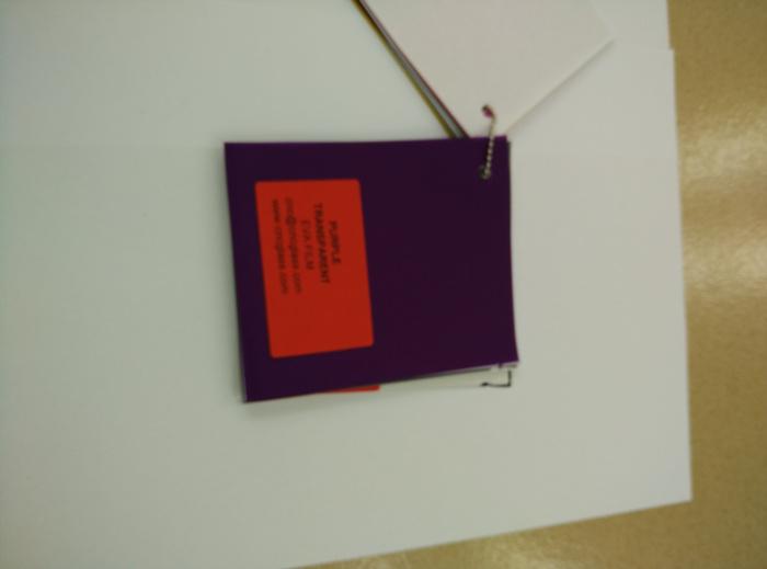 Purple Transparent Ethylene Vinyl Acetate Copolymer EVA interlayer film for laminated glass safety glazing (56)