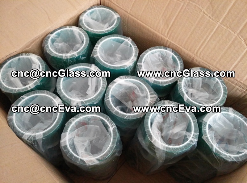 PET TAPE, green tape, glass tape, glazing tape (1)