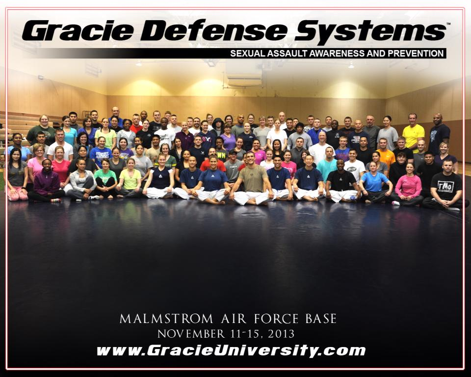 Eve and Rener teach self-defense to reduce sexual assault in the Air Force