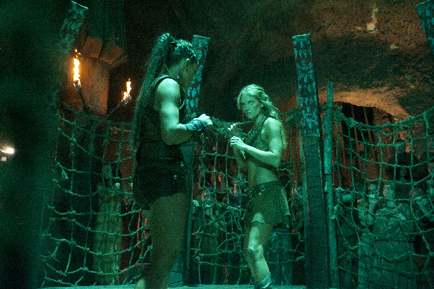 Eve & Ellen talk about their cage fight!