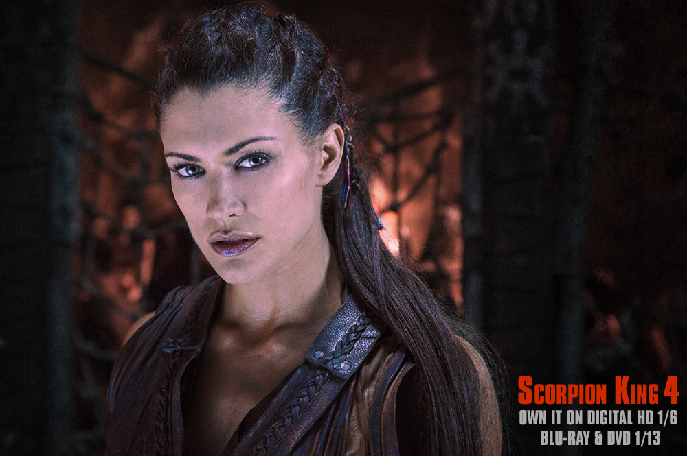 Scorpion King 4- now available on Blu-Ray and DVD!