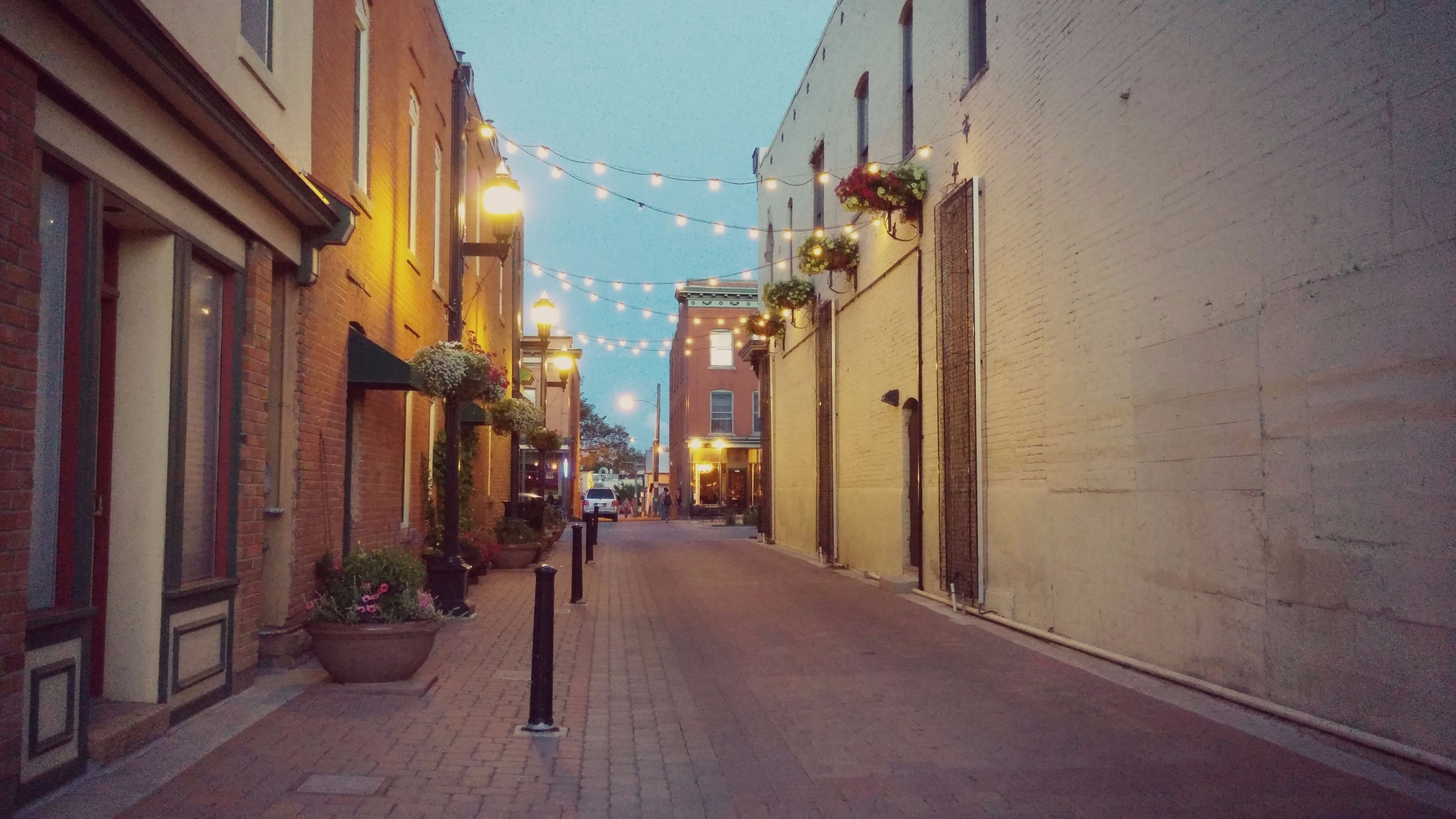 Downtown Fort Collins Alley
