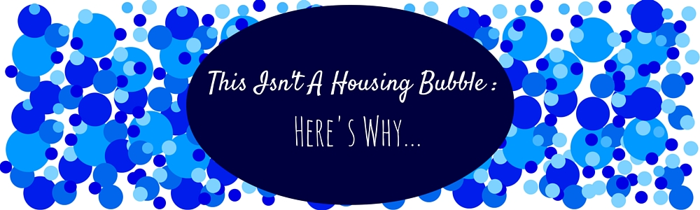 This Isn't A Housing Bubble