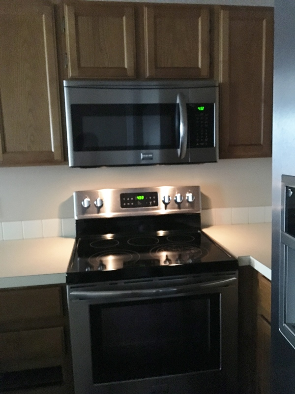 Frigidare Stainless Appliances – 6 mos. old