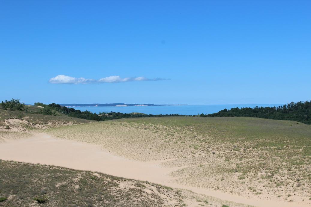 Sleeping Bear Dunes and South Manitou Island